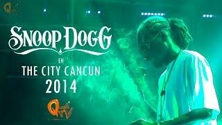snoop dogg en the city cancn 2014