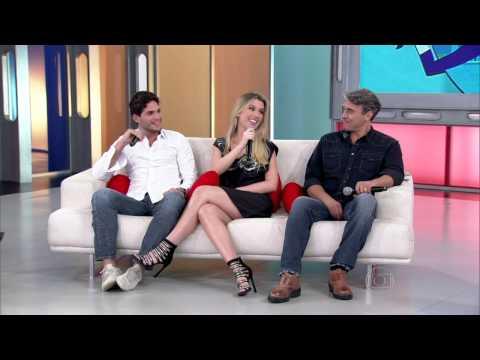 André explica por que resistiu tanto ao romance com Fernanda Encontro 12 06 2013