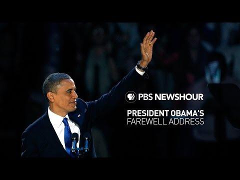 Watch Live President Obama s farewell address