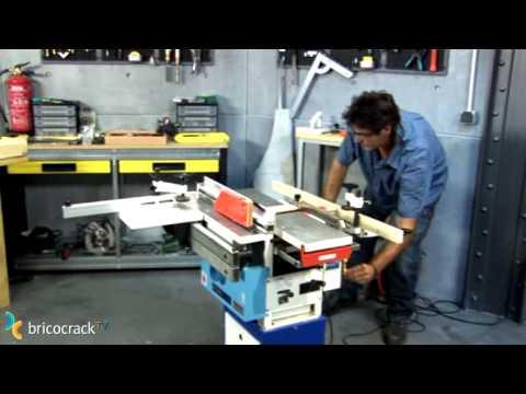 Máquinas estacionarias para madera BricocrackTV