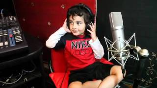 Sonu Nigam's son Nevaan singing Why this Kolaveri di.