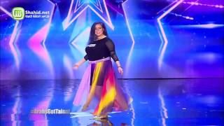 Arabs Got Talent - مرحلة تجارب الاداء - مصر- ميرنا مجدي