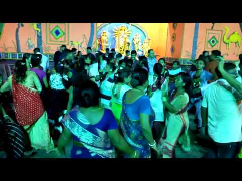 Hooghly West Bengal Durga Puja dance