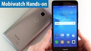 Huawei Honor 5C für 199 Euro im Hands-on von mobiwatch | Kurz-Test | deutsch / german