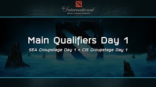 The International 2017 : Main Qualifiers Day 1 - [Thai Caster]