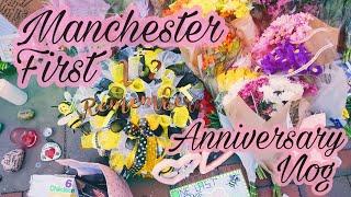 Manchester First Year Anniversary Vlog | Samantha Barlow