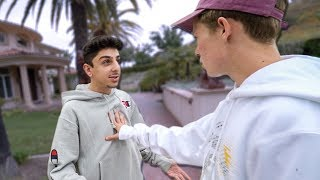 CONFRONTING FAZE RUG FACE TO FACE