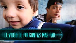 EL VIDEO DE PREGUNTAS MAS FAIL #AskSebasYSanti I Sebas Dice