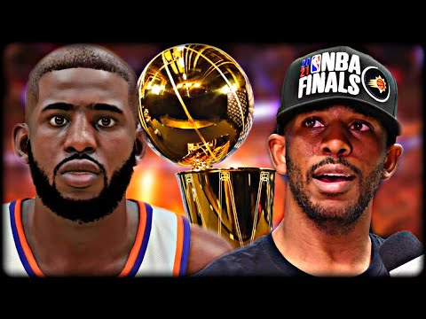 Winning CHRIS PAUL a RING Rebuilding the SUNS after the Finals