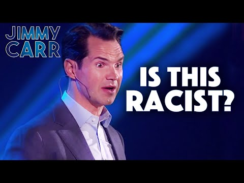 The Racist Comedian Jimmy Carr Laughing and Joking