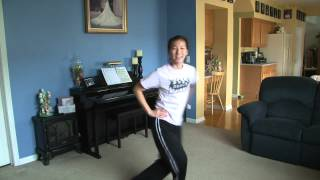 One Direction What makes you Beautiful dance routine choreography easy to learn step by step move