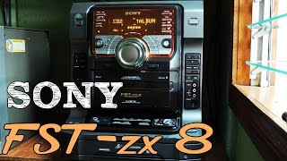 SONY FST-ZX8 HI-FI STEREO SYSTEM
