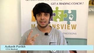 Malkansview - Mentor Student - Aakash Parikh, CFA Student