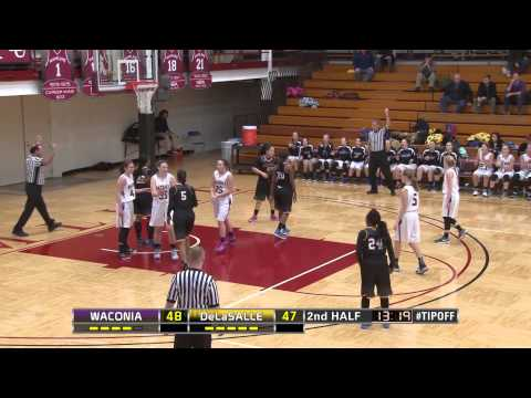 High School Girls Basketball: Waconia vs. DeLaSalle