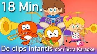 BOM DIA + 18 Minutos de clips infantis  com Os Amiguinhos