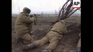 RUSSIA: RUSSIAN ARMY DEVASTATING CHECHNYA CAPITAL GROZNY