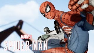 SPIDER-MAN PS4 - SUPER JUMP MODE & SWITCHING CHARACTERS?! (Spiderman PS4 SHow)