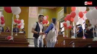 """لقطة رومانسية فى الدراما المصرية للنجم """"رامز أمير"""" يفاجأ """"دعاء .... الحلقة 14 من """"حالة عشق """""""