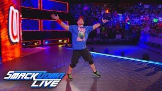 John Cena returns on Fourth of July: SmackDown LIVE, June 13, 2017