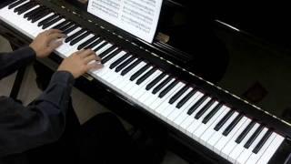 John Thompson's Easiest Piano Course Part 5 No.8 The Church Organ (P.16)