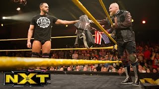 Eric Young invites Tye Dillinger to join SAnitY: WWE NXT, Jan. 18, 2017