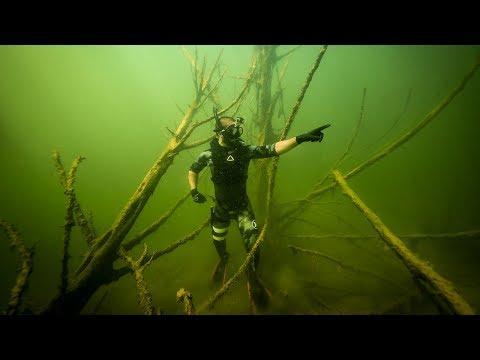 Treasure Hunting a Creepy Underwater Forest Found GoldMine Jiggin With Jordan