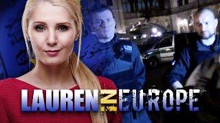 Lauren Southern in Europe: Police harrass journalists at Bilderberg