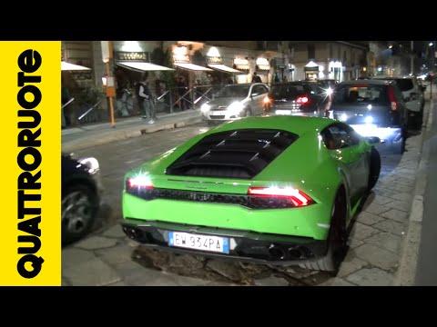Uscire la sera con una Lamborghini Huracàn Diario di bordo Day 8