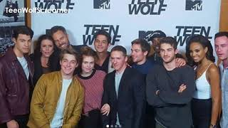 TEEN WOLF CAST SERIES WRAP PARTY: 6x20 | TYLER POSEY, DYLAN O