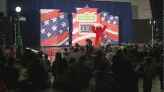 USO Brings Sesame Street to Misawa