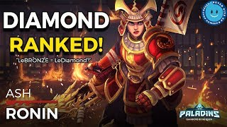 Paladins: Ash Ranked Gameplay and Loadout! LeBRONZE Is LeDIAMOND?! BEAST MODE!