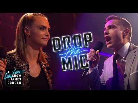 Drop the Mic w Cara Delevingne & Dave Franco