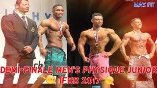 VLOG MAX FIT: Demi-finale Men's physique Junior IFBB (15/04/2017)