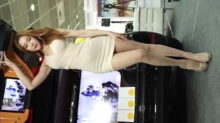 4K 레이싱모델 유리안 #3 가로 직캠 Racing Model Yu Rian Horizontal 2016 사진영상기자재전 P&I by 화질덕후