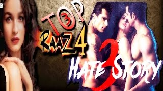 Top 3 UPCOMING HORROR and THRILLER MOVIE IN BOLLYWOOD 2015-16 || Hate story 3, RAAZ 4, MURDER 4