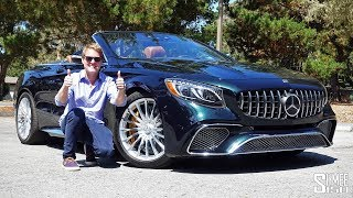 The Mercedes-AMG S65 Cabriolet is the Ultimate Extravagance! | TEST DRIVE