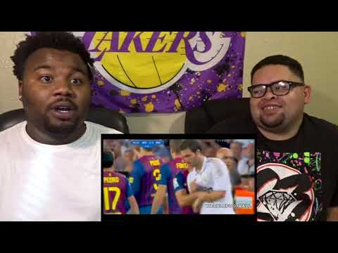 IT GOT REAL JUST THAT QUICK!!-Dirty side of El Clasico - Fights, Fouls, Dives & Red cards -REACTION!