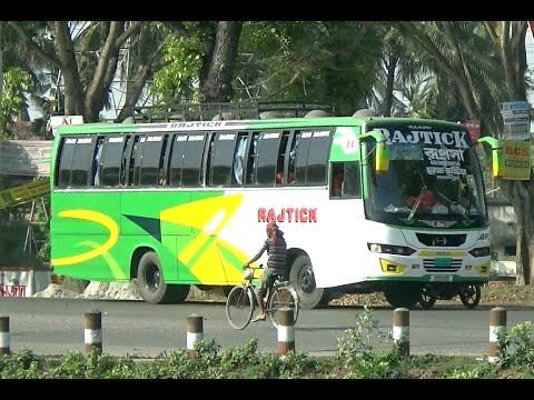 The Most Beautiful Public Transport In Bangladesh - Bus/ বাস গাড়ি