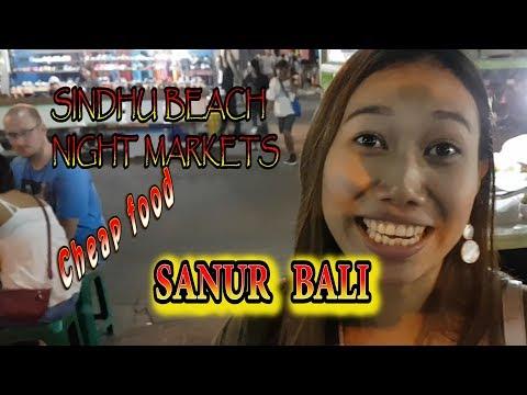 SINDU BEACH NIGHT MARKETS SANUR BALI