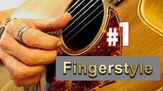 Finger-style Guitar Lesson 1 - Thumb Slap Technique