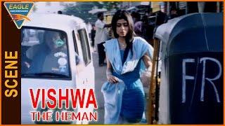 Vishwa the Heman Hindi Dubbed Movie || Villans Kidnap Shriya Saran || Eagle Hindi Movies