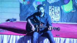 Megh Milone Song cover by Mahbub Anik IN F2F FALL 16 ORGANIZED BY BIZ BEE