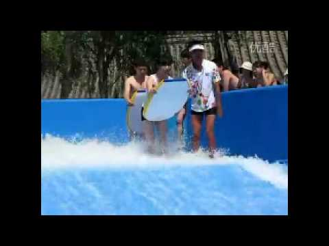 Funny Water slide accident Pretty Girl s swimwear came off