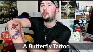 A Butterfly Tattoo | Ollie Walker