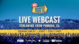 2018 Vans Warped Tour : Webcast