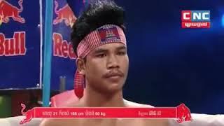 មួយដៃផ្ងារជើងច្រងាង Phan Reas vs Song Moeunglek (Lao) CNC Khmer boxing 17/11/2018