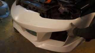 Tuning Hyundai Coupe - Tiburon - Instalation Warrior Mussa body kit