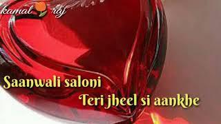 saanwali saloni / alka yagnik & kumar sanu / whatsapp status , love ka raz
