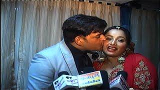 OMG !! Ravi Kishan Kisses Rani Chaterjee At Her Brothers Reception | Spicy Bhojpuri