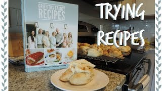 TRYING RECIPES FROM THE GRIFFITHS COOKBOOK || Kyra Ann ||